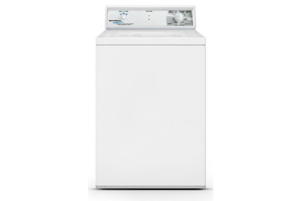 Speed Queen White Commercial Top Load Washer - LWN432SP115TW01