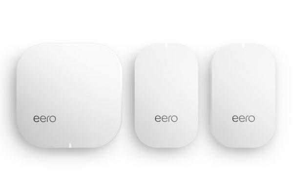 Large image of eero Home Mesh WiFi System ( 1 eero + 2 eero Beacon) 2nd Generation - M010301