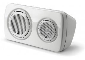 JL Audio - M103EWS-CG-WH-R - Marine Audio Speakers