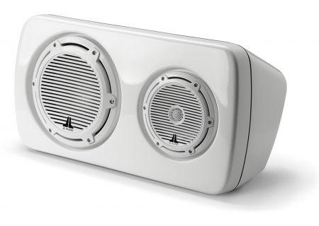JL Audio - M103EWS-CG-WH-R - Marine Audio Speakers