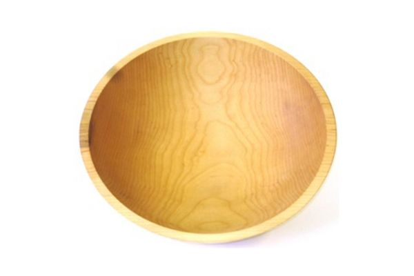 """Large image of Holland Bowl Mill 15"""" Sugar Maple Wooden Bowl - M115B"""