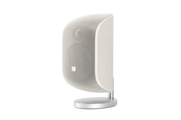 Large image of Bowers & Wilkins Mini Theatre M-1 Matte White Satellite Speaker (Each) - M1MW