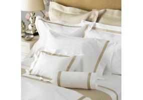 Matouk - M230LOWELLKCASMC - Bed Sheets & Bed Pillows