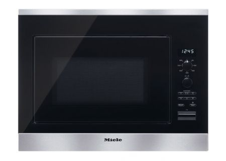 "Miele 24"" PureLine Stainless Steel Built-In Microwave Oven - M6040SC"