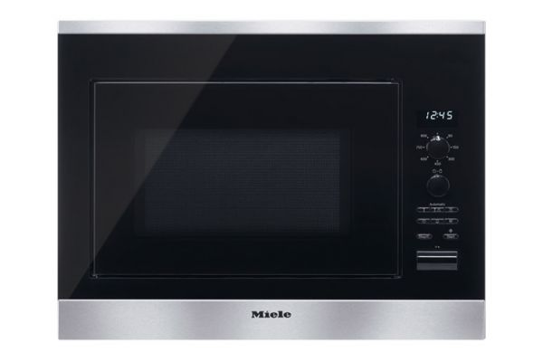"""Large image of Miele 24"""" PureLine Stainless Steel Built-In Microwave Oven - 09762410"""