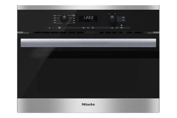 """Large image of Miele 24"""" PureLine Stainless Steel Built-In Microwave Oven - 09762430"""