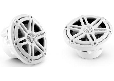"JL Audio White Marine 6.5"" Coaxial Speaker System - 91907"