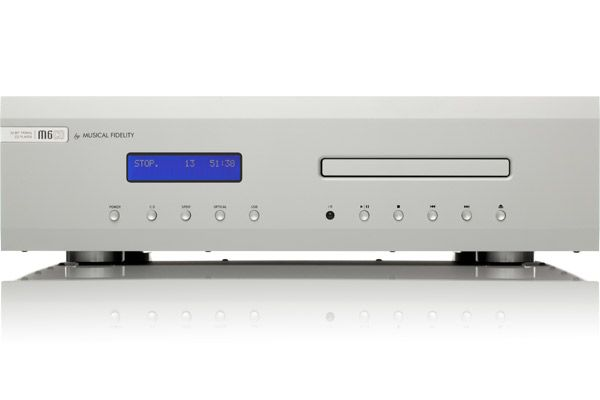 Large image of Musical Fidelity M6S Silver CD Player - MUFIM6SCDSL