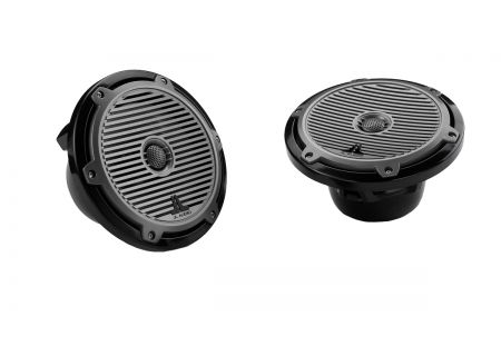 "JL Audio Black 7.7"" Marine Tower Coaxial System With Titanium Grilles  - 91758"