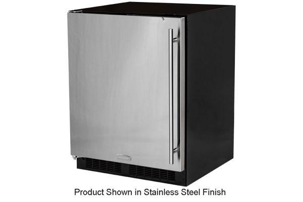 "Large image of Marvel 24"" Black Undercounter Compact Refrigerator  - MA24RAS2LB"