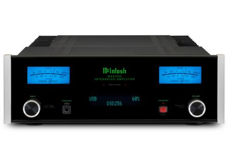 McIntosh Black MA5300 2-Channel Integrated Amplifier - MA5300