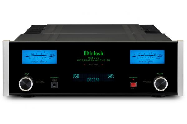 Large image of McIntosh Black MA5300 2-Channel Integrated Amplifier - MA5300