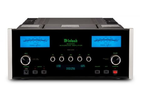 McIntosh Black 2-Channel Integrated Amplifier - MA8900