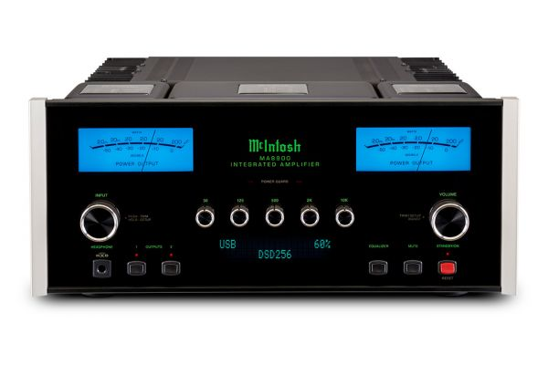 Large image of McIntosh Black 2-Channel Integrated Amplifier - MA8900