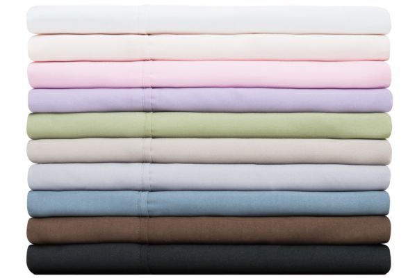 Malouf Woven Blush Standard Brushed Microfiber Pillowcases - MA90STBHPC
