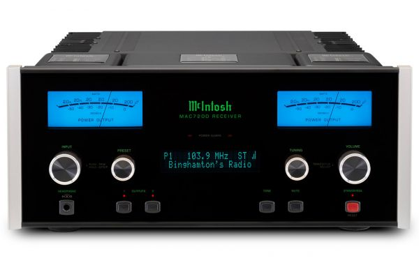 Large image of McIntosh Black MAC7200 2-Channel Receiver - MAC7200