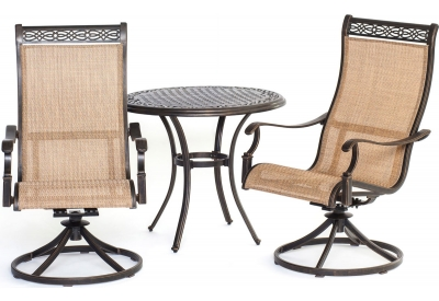 Hanover - MANDN3PCSW-BS - Patio Dining Sets