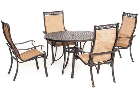 Hanover 5-Piece Manor Dining Patio Set - MANDN5PC