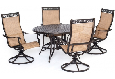 Hanover - MANDN5PCSW-4 - Patio Furniture