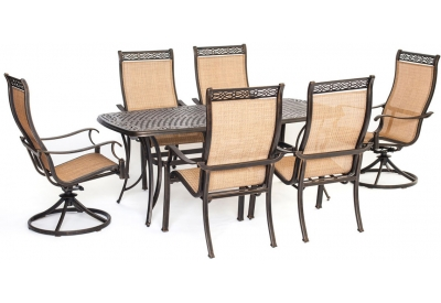 Hanover - MANDN7PCSW-2 - Patio Dining Sets