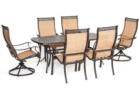 Hanover 7-Piece Manor Dining Patio Set - MANDN7PCSW-2