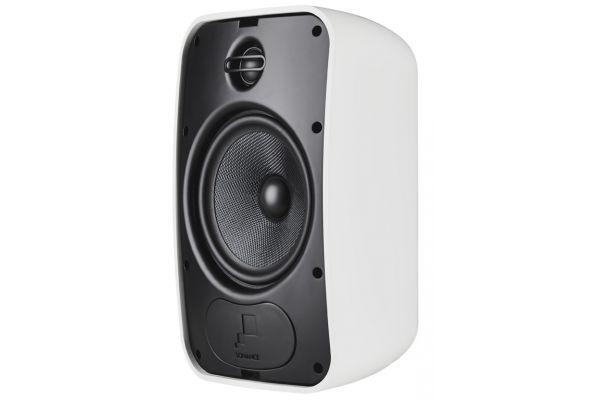 Large image of Sonance White Mariner 66 Outdoor Speakers (Pair) - 93154