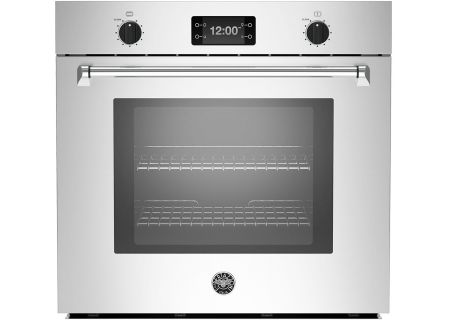 "Bertazzoni Master Series 30"" Stainless Steel Single Convection Oven - MASFS30XT"