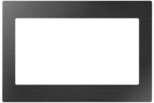 "Large image of Samsung 30"" Black Stainless Steel Microwave Trim Kit - MA-TK8020TG/AA"