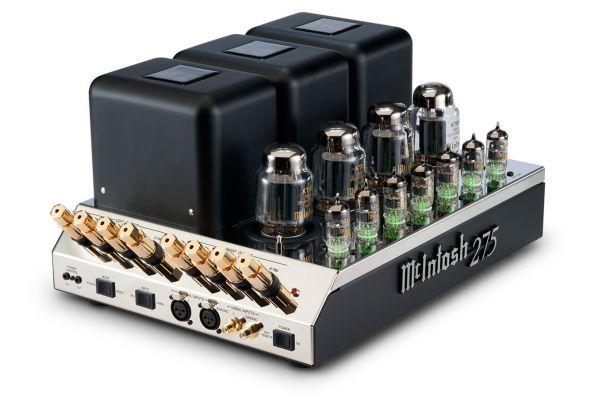 Large image of McIntosh Black 2-Channel Vacuum Tube Amplifier - MC275