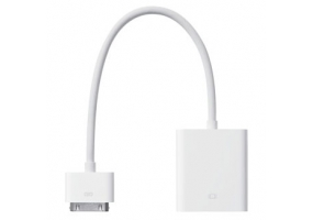 Apple - MC552ZM/B - iPad Cables and Docks