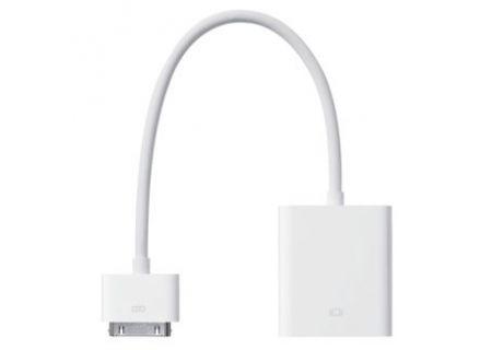 Apple - MC552ZM/B - iPad Cables & Docks