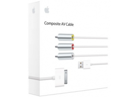 Apple - MC748ZM/A - iPod A/V Adapters & Cables