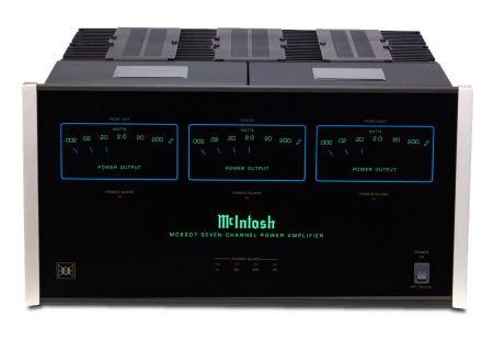 McIntosh Black MC8207 7-Channel Amplifier - MC8207