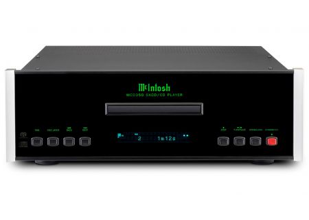 McIntosh Black MCD350 2-Channel SACD/CD CD Player - MCD350