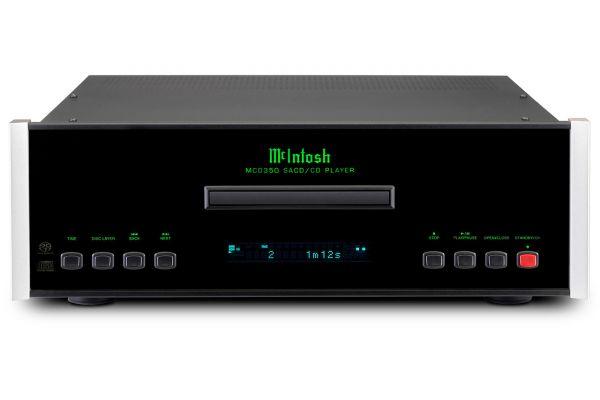 McIntosh Black MCD350 2-Channel SACD/CD CD Player - MCD350