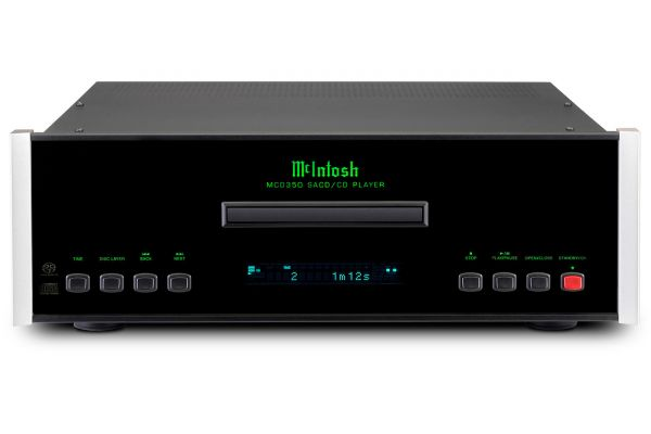 Large image of McIntosh Black MCD350 2-Channel SACD/CD CD Player - MCD350