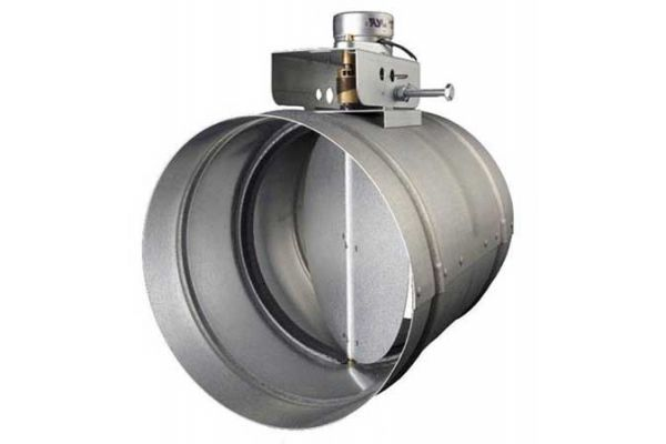 """Large image of Best 10"""" Automatic Make-Up Air Damper - MD10T"""