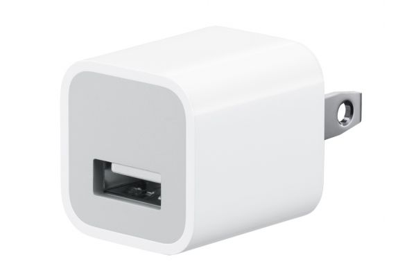 Apple 5W White USB Power Adapter - MD810LL/A