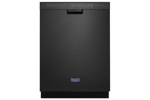 """Maytag 24"""" Black Built-In Dishwasher - MDB4949SHB"""