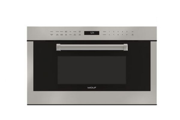 """Wolf 30"""" Stainless Steel E Series Professional Dropdown Door Microwave Oven  - MDD30PESPH"""
