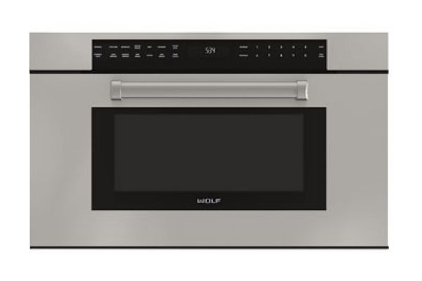"Wolf 30"" M Series Stainless Steel Professional Drop-Down Door Microwave Oven  - MDD30PM/S/PH"