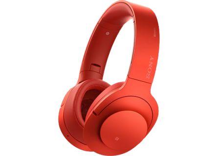 Sony - MDR100ABN/R - Headphones