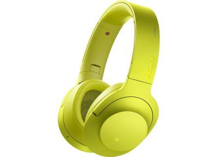 Sony - MDR100ABN/Y - Headphones