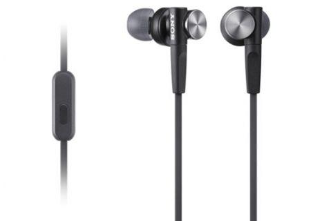 Sony - MDRXB50AP/B - Earbuds & In-Ear Headphones