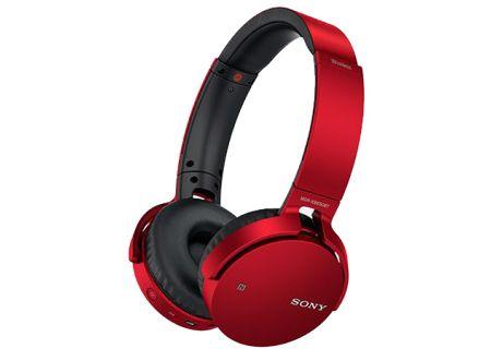 Sony - MDR-XB650BT/R - On-Ear Headphones