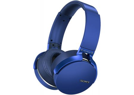 Sony - MDR-XB950BT/L - Over-Ear Headphones
