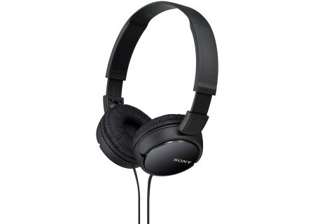 Sony - MDR-ZX110/B - Over-Ear Headphones