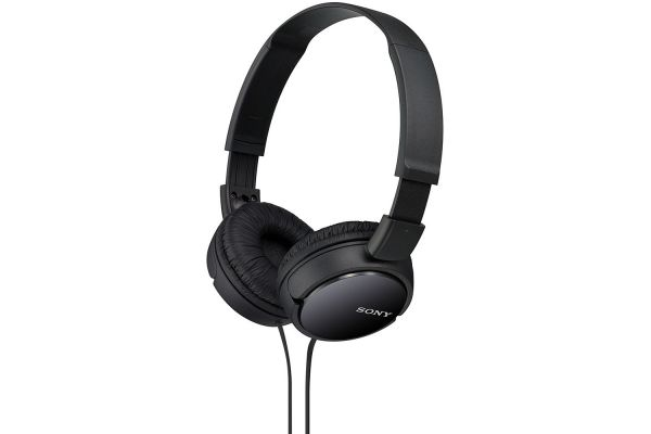 Sony Black On-Ear Stereo Headphones - MDR-ZX110/B
