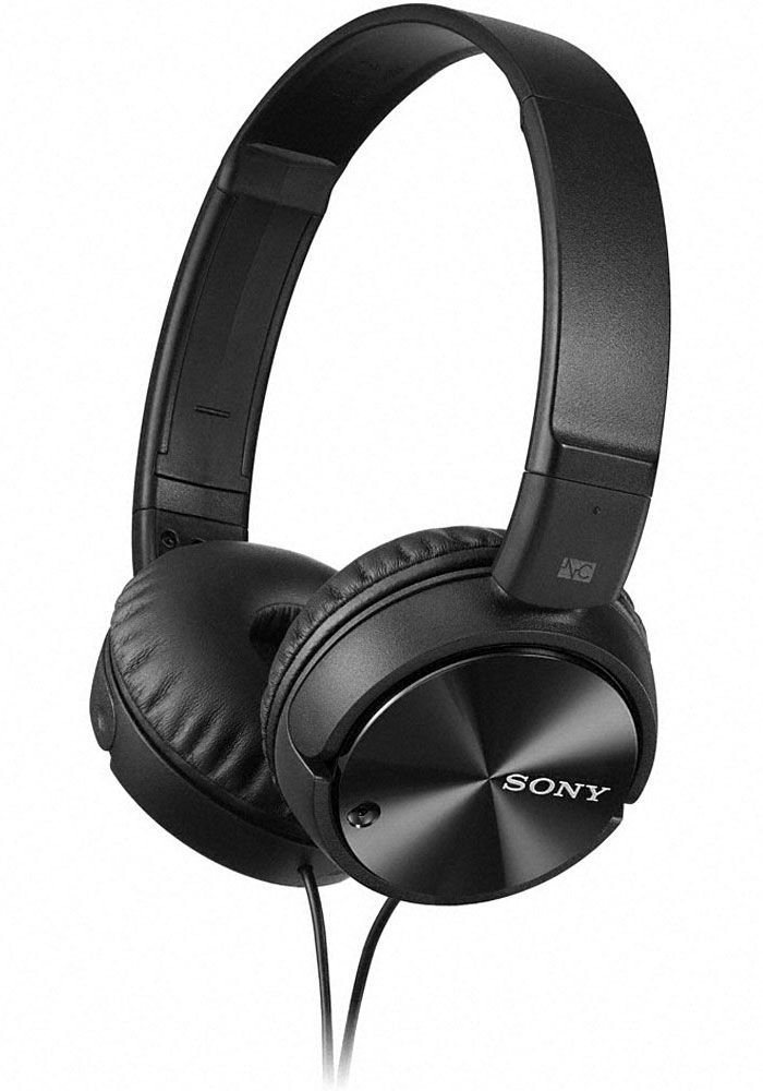 Sony Black Noise Canceling Headphones Mdr Zx110nc