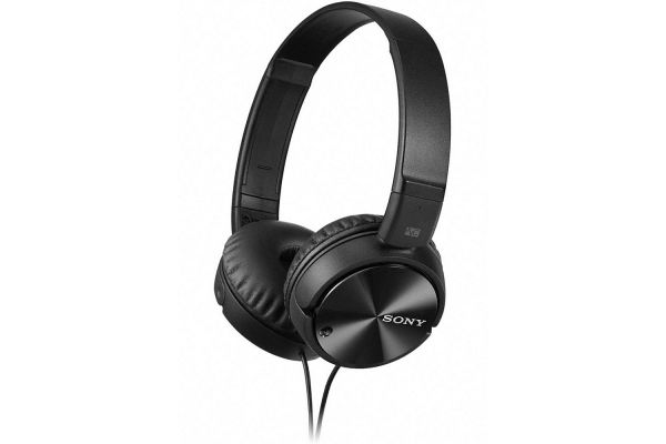 Large image of Sony Black On-Ear Noise Canceling Headphones - MDRZX110NC